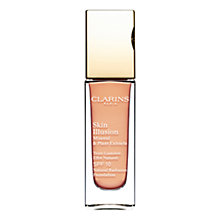 Buy Clarins Skin Illusion Natural Radiance Foundation  SPF10 Online at johnlewis.com