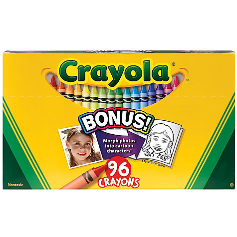 Buy Crayola Crayons, Pack of 96, Multi Online at johnlewis.com