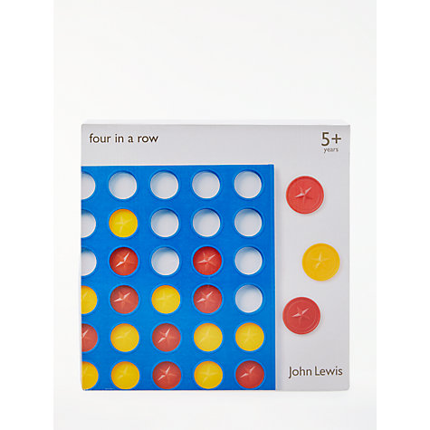 Buy John Lewis Four In A Row Game Online at johnlewis.com