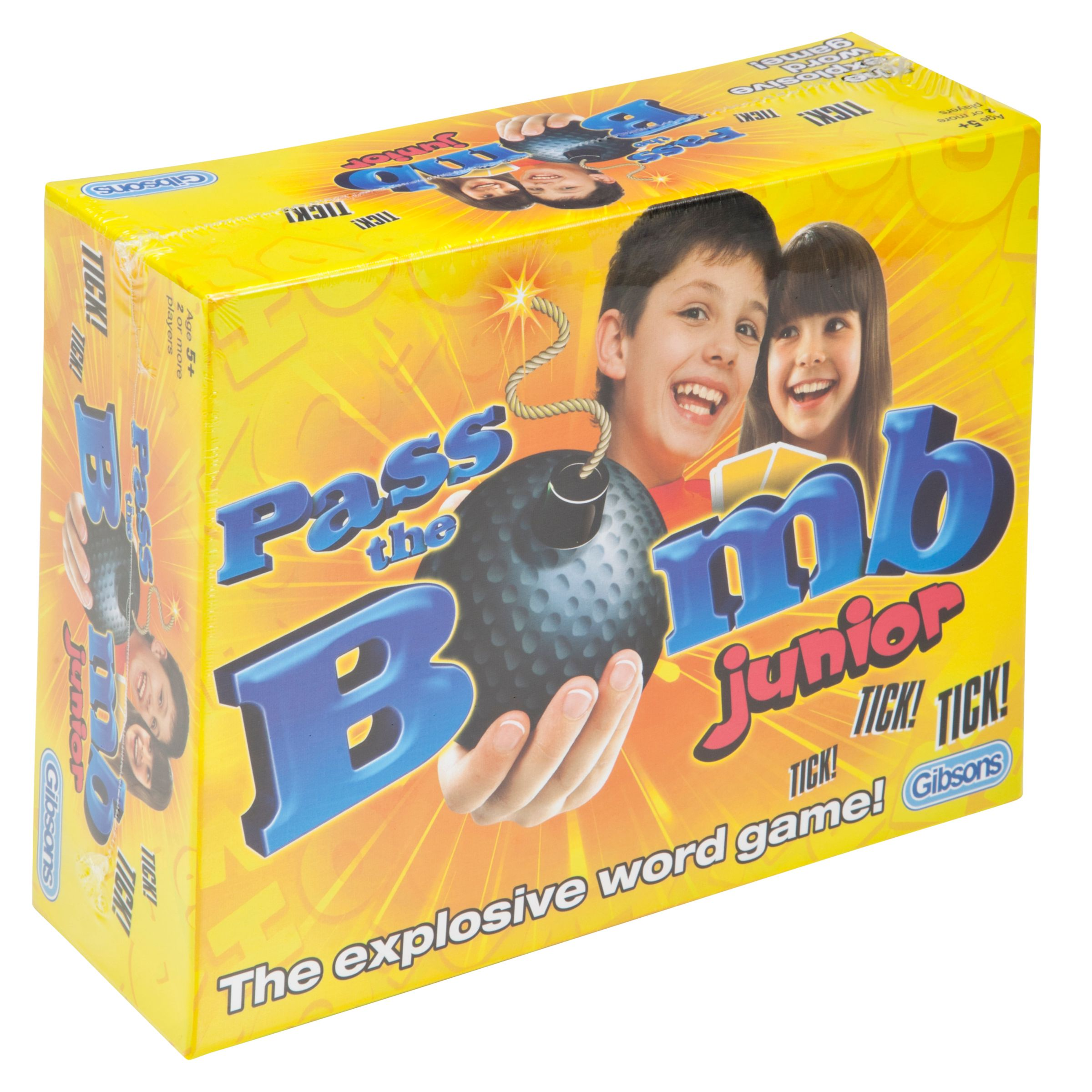Gibsons Gibsons Pass The Bomb Junior Word Game