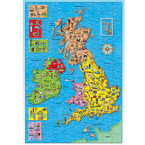 Buy Orchard Toys Great Britain & Ireland Jigsaw Puzzle & Poster Online at johnlewis.com
