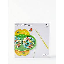 Buy John Lewis Magnetic Wind-Up Fishing Game Online at johnlewis.com