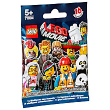 Buy The LEGO Movie Minifigure, Assorted Online at johnlewis.com