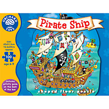 Buy Orchard Toys Pirate Ship Shaped Floor Jigsaw Puzzle Online at johnlewis.com