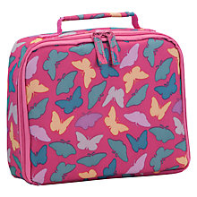 Buy John Lewis Junior Butterfly Lunch Box, Pink/Multi Online at johnlewis.com