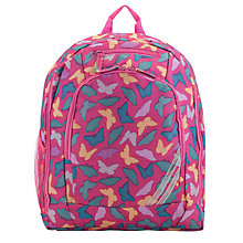 Buy John Lewis Junior Butterfly Backpack, Pink/Multi Online at johnlewis.com