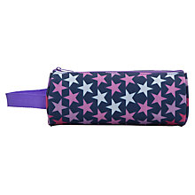 Buy John Lewis Star Print Pencil Case, Navy/Multi Online at johnlewis.com