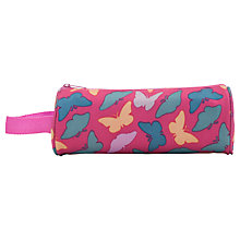 Buy John Lewis Junior Butterfly Pencil Case, Pink/Multi Online at johnlewis.com