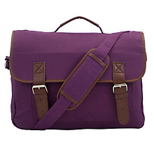 Buy John Lewis Satchel, Purple Online at johnlewis.com