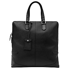 Buy Reiss Casey Fashion Tote Bag, Black Online at johnlewis.com