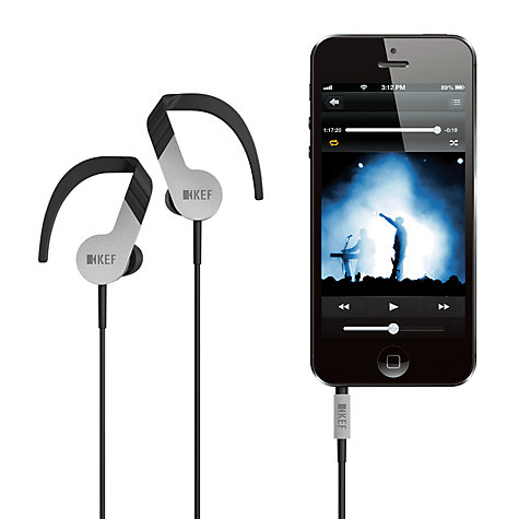 Buy KEF M200 Around-Ear Headphones with Mic/Remote Online at johnlewis.com