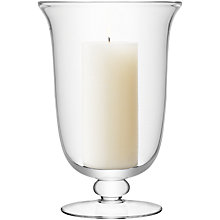 Buy LSA Flared Storm Lantern, Clear, Large Online at johnlewis.com