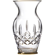 Buy Waterford Lismore Gold Vase Online at johnlewis.com