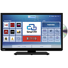 "Buy Toshiba 32D3453 LED HD Ready Smart TV/DVD Combi, Wi-Fi, 32"" with Built-in Freeview HD Online at johnlewis.com"