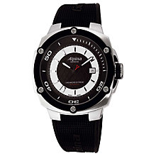 Buy Alpina AL-525LBS5AE6 Men's Adventure Avalanche Extreme Automatic Rubber Strap Watch Online at johnlewis.com