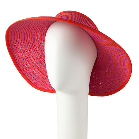 Buy John Lewis Stripe Visor Hat Online at johnlewis.com