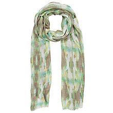 Buy Collection WEEKEND by John Lewis Stretched Batik Scarf, Multi Online at johnlewis.com