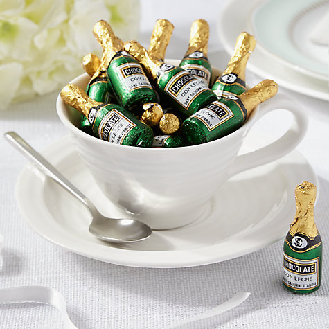 Buy Milk Chocolate Champagne Bottles, 320g Online at johnlewis.com