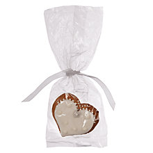 Buy Image on Food Wedding Bride Heart Gingerbread, Pack of 50 Online at johnlewis.com