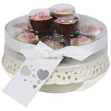 Buy Cake Stand with Mini Chocolate Cupcakes, Set of 10 Online at johnlewis.com