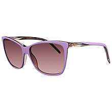Buy Gucci 3640/S 0WX3X Square Frame Acetate Sunglasses, Lilac Online at johnlewis.com