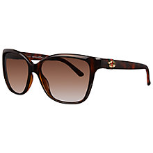 Buy Gucci 3645/S Oversized Acetate Frame Cat's Eye Sunglasses Online at johnlewis.com