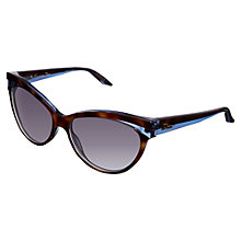 Buy Christian Dior Sauvage 1 Sunglasses, Havana/Blue Online at johnlewis.com