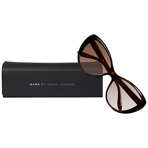 Buy Marc by Marc Jacobs MMJ366/S Cat's Eye Sunglasses, Havana Online at johnlewis.com