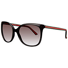 Buy Gucci 3649/S Oversized Round Acetate Sunglasses Online at johnlewis.com