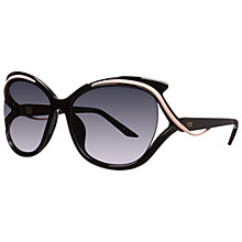 Buy Christian Dior Dioraudacieuse2 Rectangular Sunglasses Online at johnlewis.com