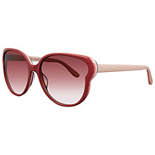Buy Marc by Marc Jacobs MMJ369/S C95PB Cat's Eye Acetate Frame Sunglasses, Pink Online at johnlewis.com