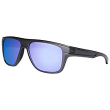 Buy Oakley 009199 9199-02 Breadbox Sunglasses, Black Online at johnlewis.com