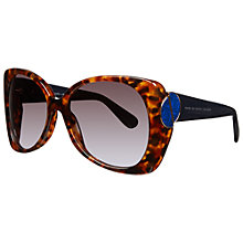 Buy Marc by Marc Jacobs MMJ 406/S Enamel Detail Sunglasses Online at johnlewis.com