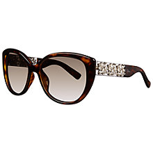 Buy Christian Dior Diormystere 3GVHA Cat's Eyes Sunglasses, Havana Online at johnlewis.com