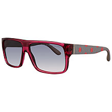 Buy Marc by Marc Jacobs MMJ 096/N/S Grey Drlie Sunglasses, Cherry Pink Online at johnlewis.com