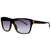 Buy Marc by Marc Jacobs MMJ380/s Square Sunglasses, Black Online at johnlewis.com