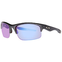 Buy Oakley OO9164 9164-11 Bottle Rocket Rectangular Sunglasses, Black Online at johnlewis.com