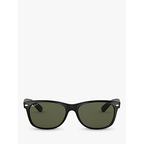Buy Ray-Ban 0RB2132 Wayfarer Sunglasses, Black Online at johnlewis.com