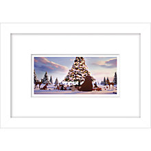 Buy John Lewis Bear & Hare Still 3 Framed Digital Print, 23 x 33cm Online at johnlewis.com