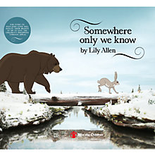 Buy Somewhere Only We Know by Lily Allen, Charity Single from the John Lewis Christmas Advert 2013 Online at johnlewis.com