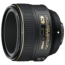 Buy Nikon FX 58mm f/1.4G AF-S Standard Lens Online at johnlewis.com