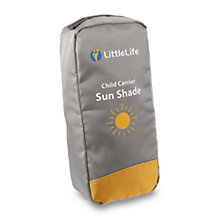 Buy LittleLife Child Carrier Sunshade, Grey Online at johnlewis.com