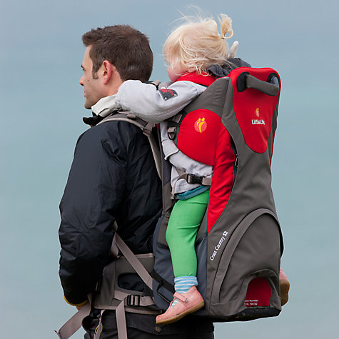 Buy LittleLife Cross Country S3 Baby Back Carrier, Red/Grey Online at johnlewis.com