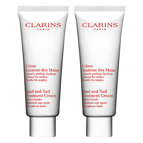 Buy Clarins Hand & Nail Duo Set, 100ml x 2 Online at johnlewis.com