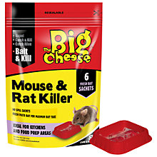 Buy The Big Cheese Mouse and Rat Killer Pasta Bait, 6 Sachets Online at johnlewis.com