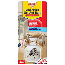 Buy Zeroin Dual Action Ant Bait Gel, Pack of 2 Online at johnlewis.com