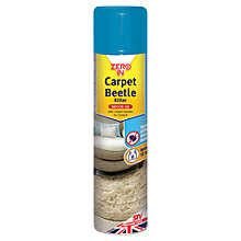 Buy Zeroin Carpet Bug Killer Spray, 300ml Online at johnlewis.com