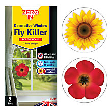 Buy Zeroin Decorative Window Fly Killer, Pack of 2 Online at johnlewis.com
