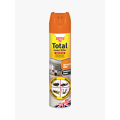 Zeroin Total Insect Killer Spray, 300ml