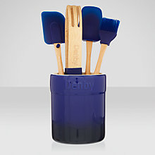 Buy Denby Imperial Blue Utensil Set, 5 Piece Online at johnlewis.com